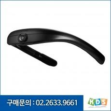 FITT 360PB 정품 웨어러블 카메라 휴대용 이동형 3채널  넥밴드형 블랙박스